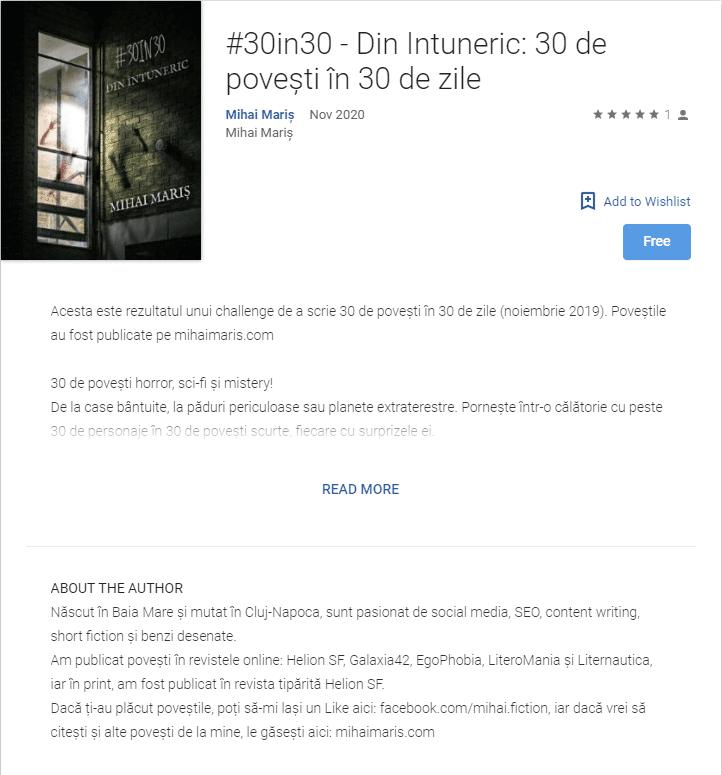 30in30 pe Google Play Books