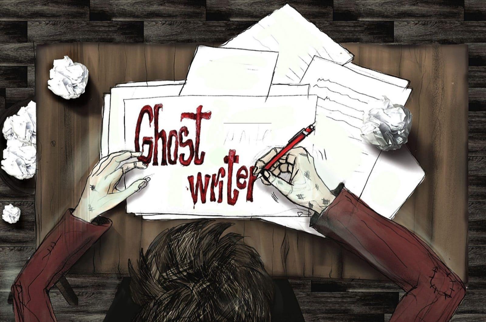 ghostwriter poveste scurtă horror